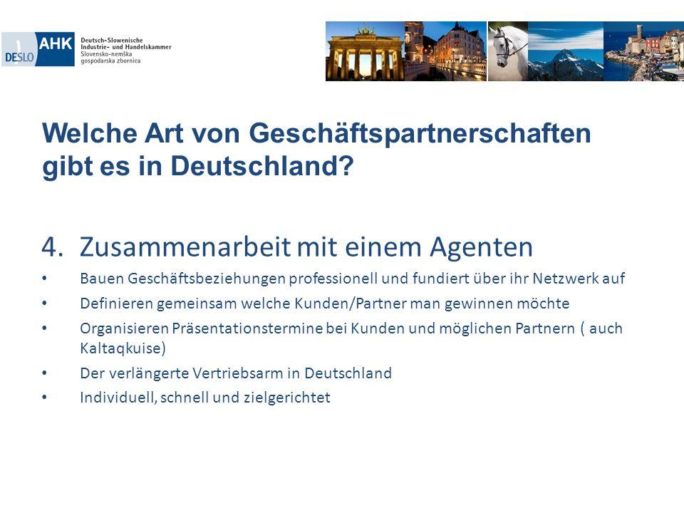 Welche Art von Geschäftspartnerschaften gibt es in Deutschland