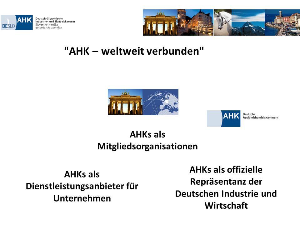 AHK – weltweit verbunden