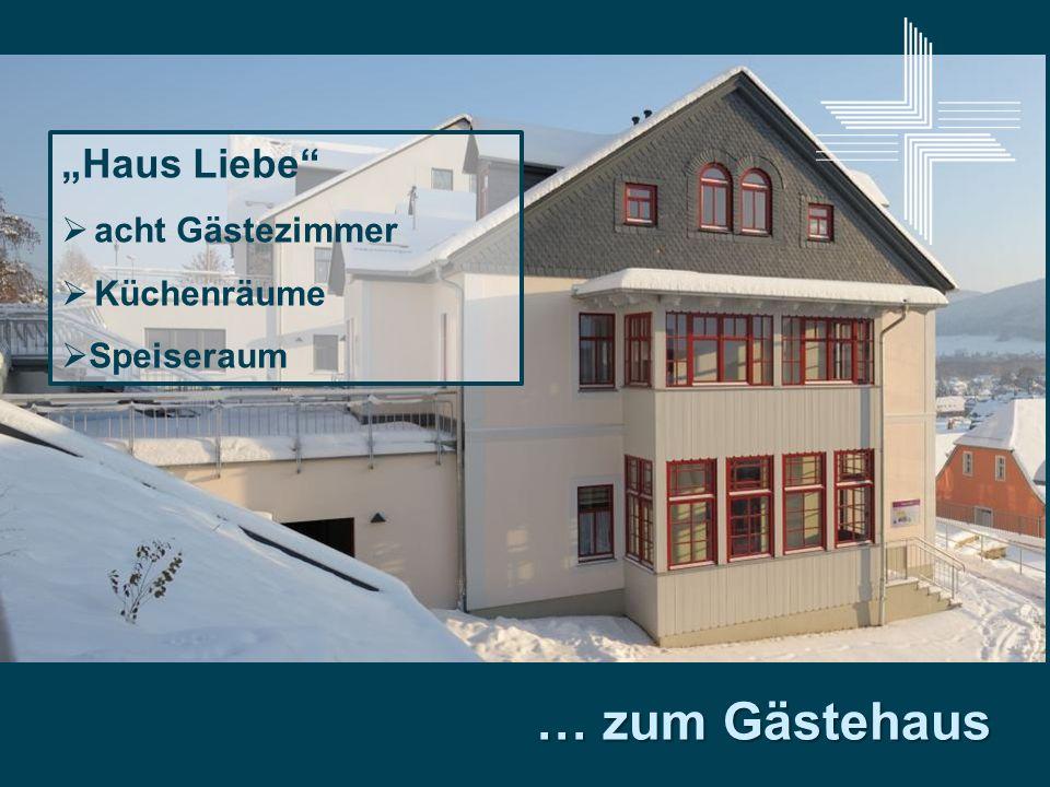 """""""Haus Liebe acht Gästezimmer Küchenräume Speiseraum … zum Gästehaus"""