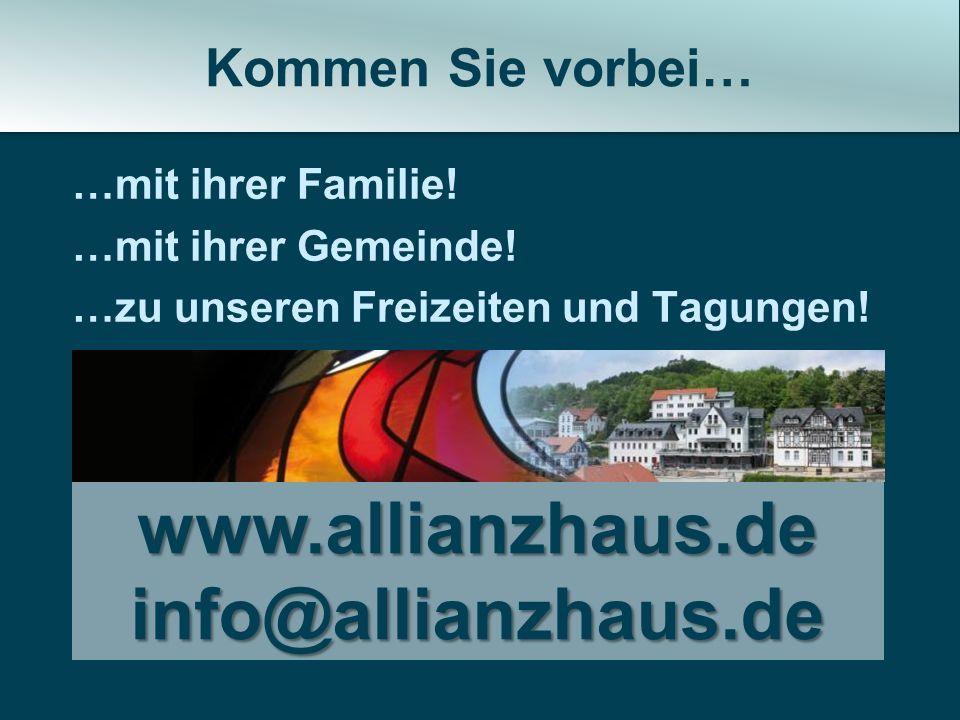www.allianzhaus.de info@allianzhaus.de