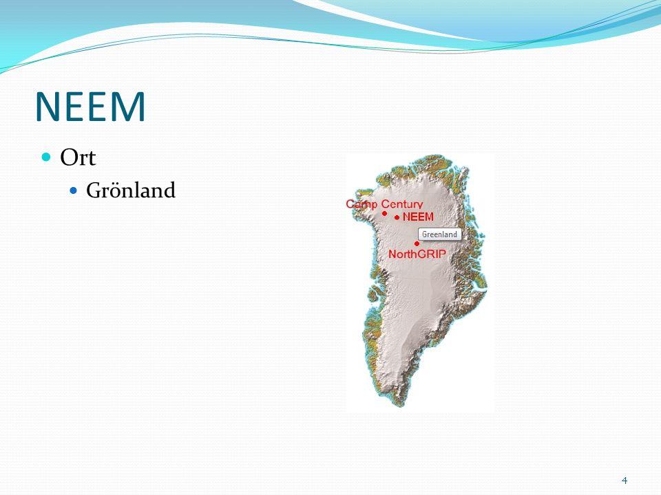 NEEM Ort Grönland