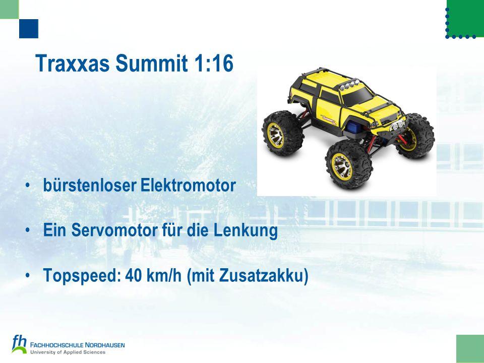 Traxxas Summit 1:16 bürstenloser Elektromotor