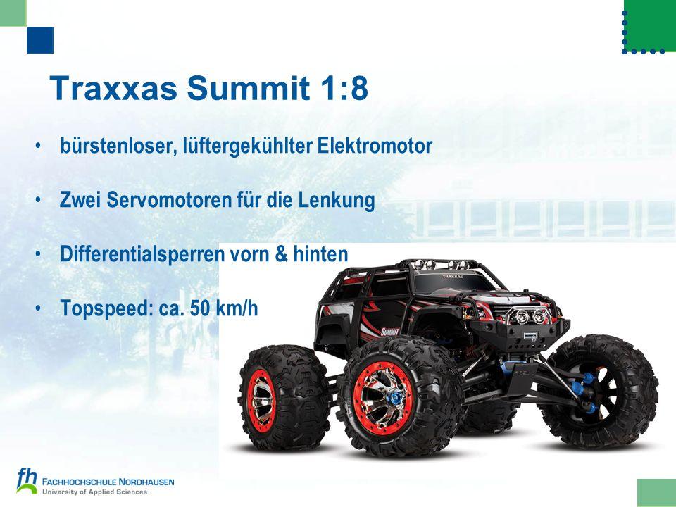 Traxxas Summit 1:8 bürstenloser, lüftergekühlter Elektromotor