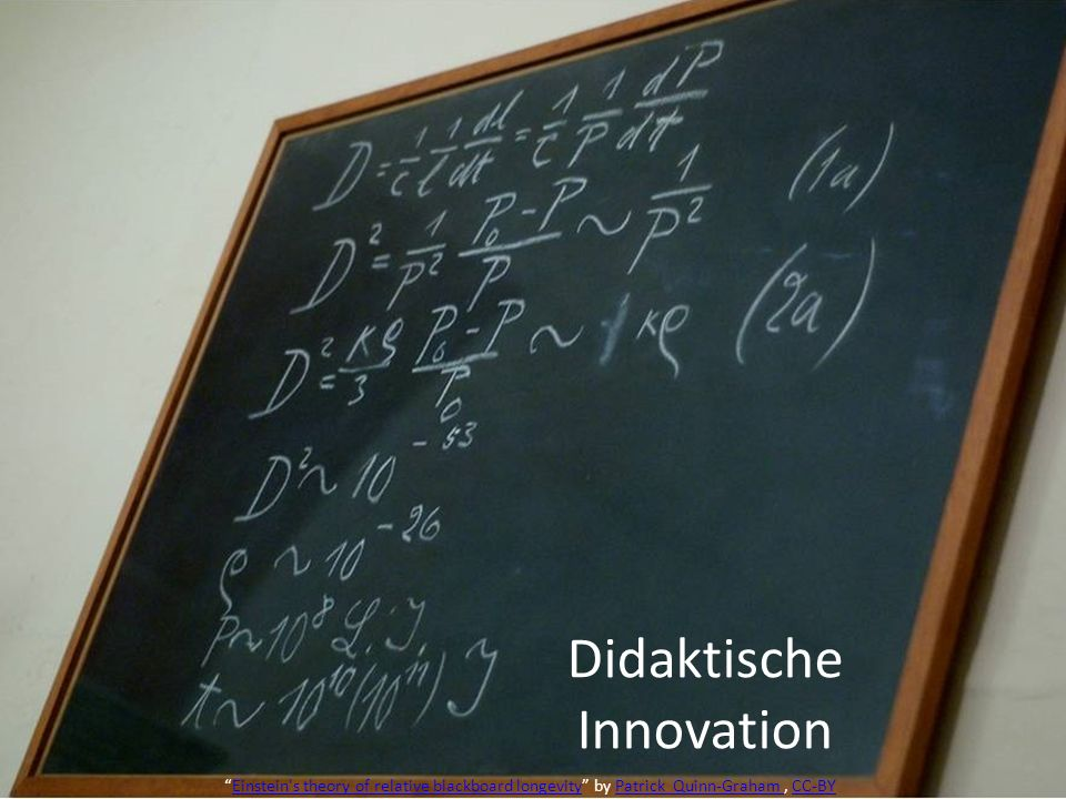 Didaktische Innovation