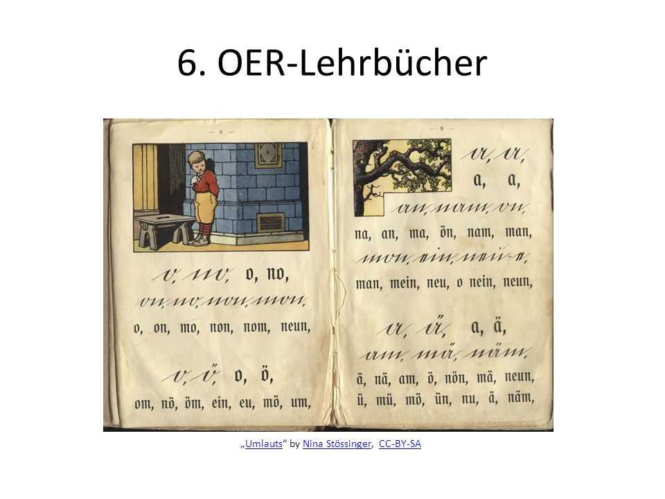6. OER-Lehrbücher