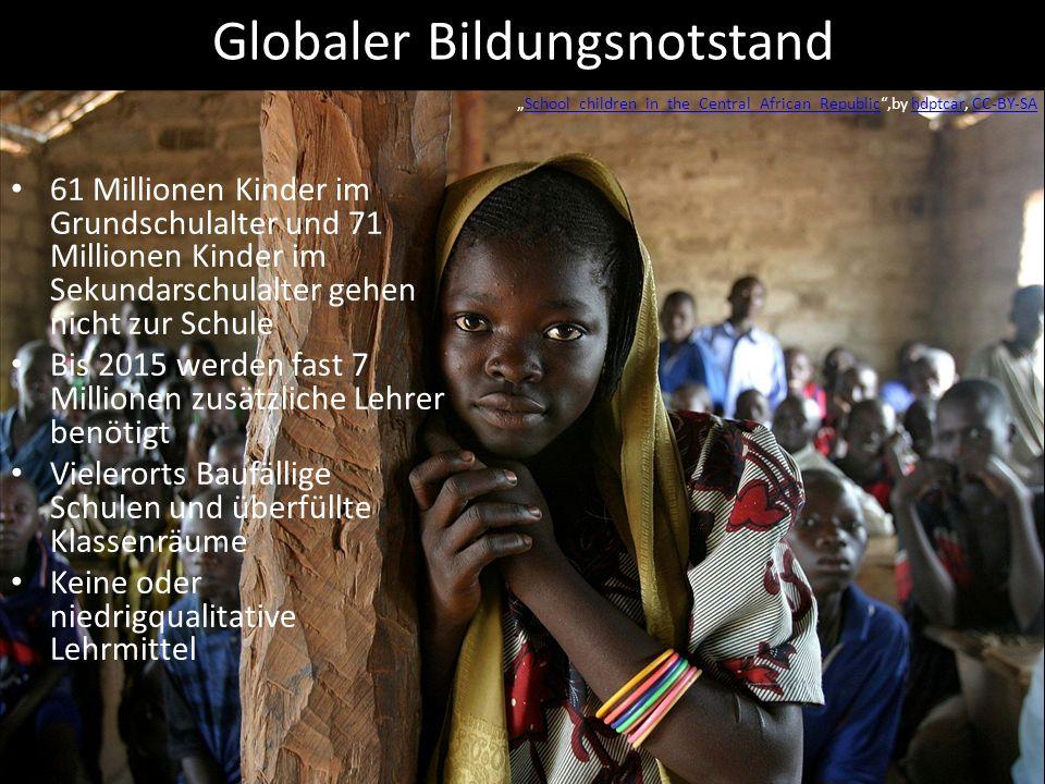 Globaler Bildungsnotstand