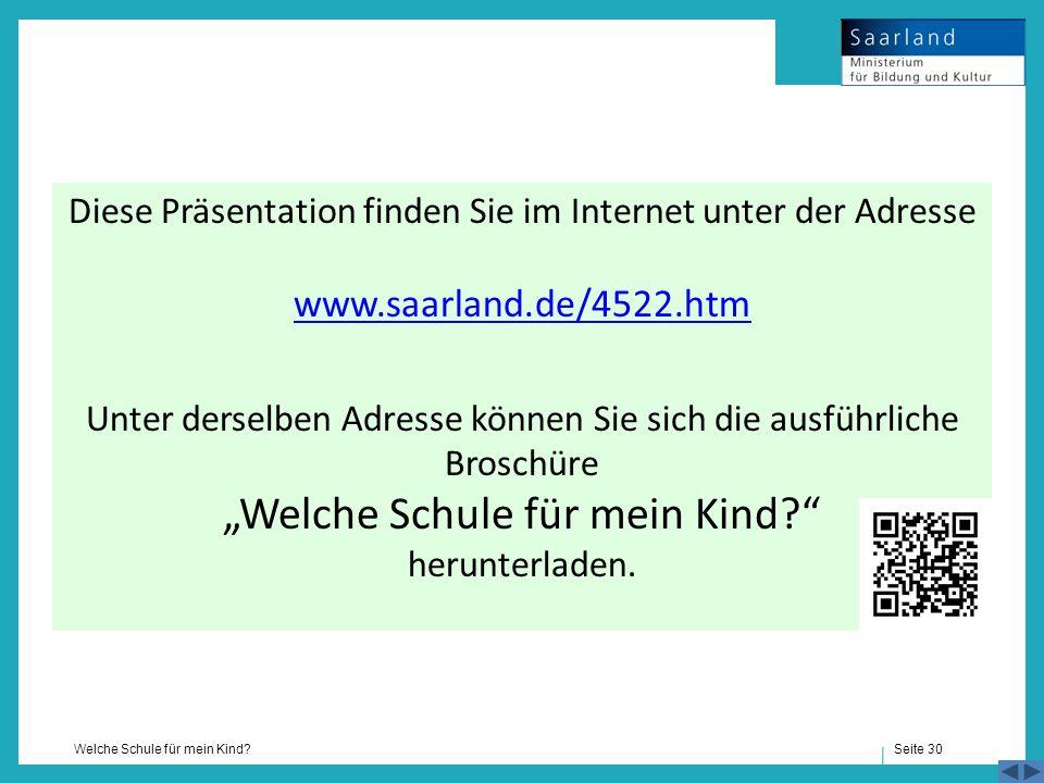 Diese Präsentation finden Sie im Internet unter der Adresse www