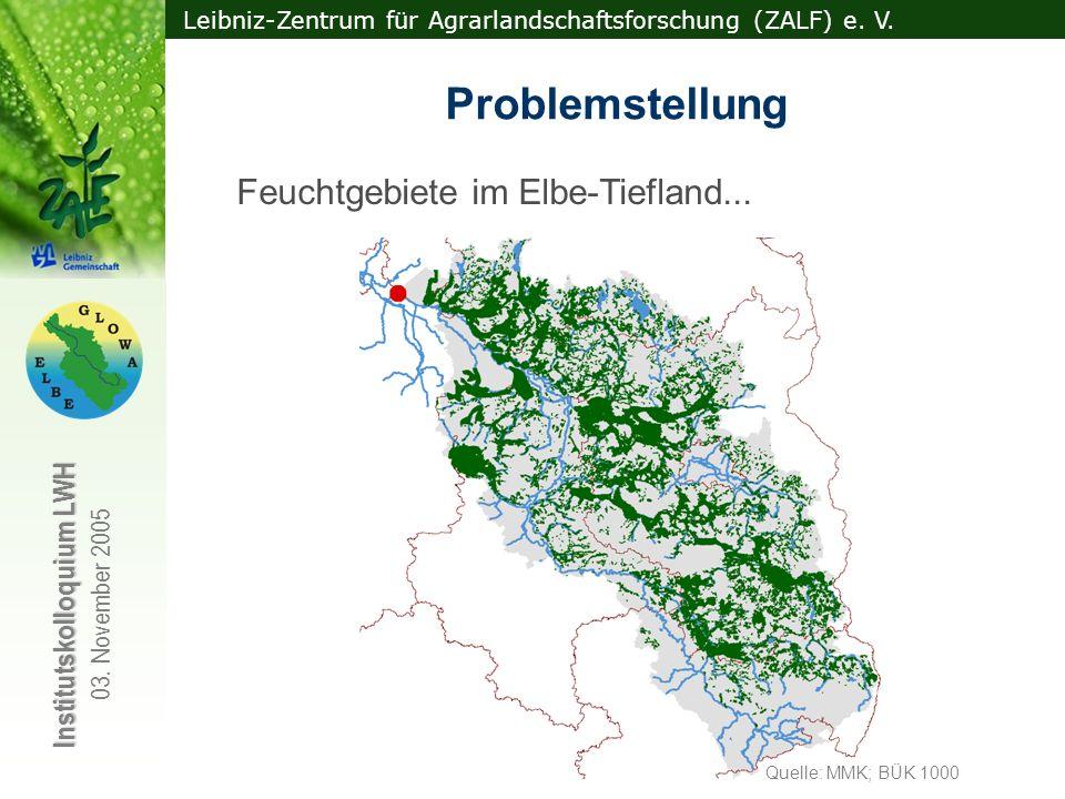  bedeutende Wassernutzer im EZG  Integration in WBalMo Elbe!