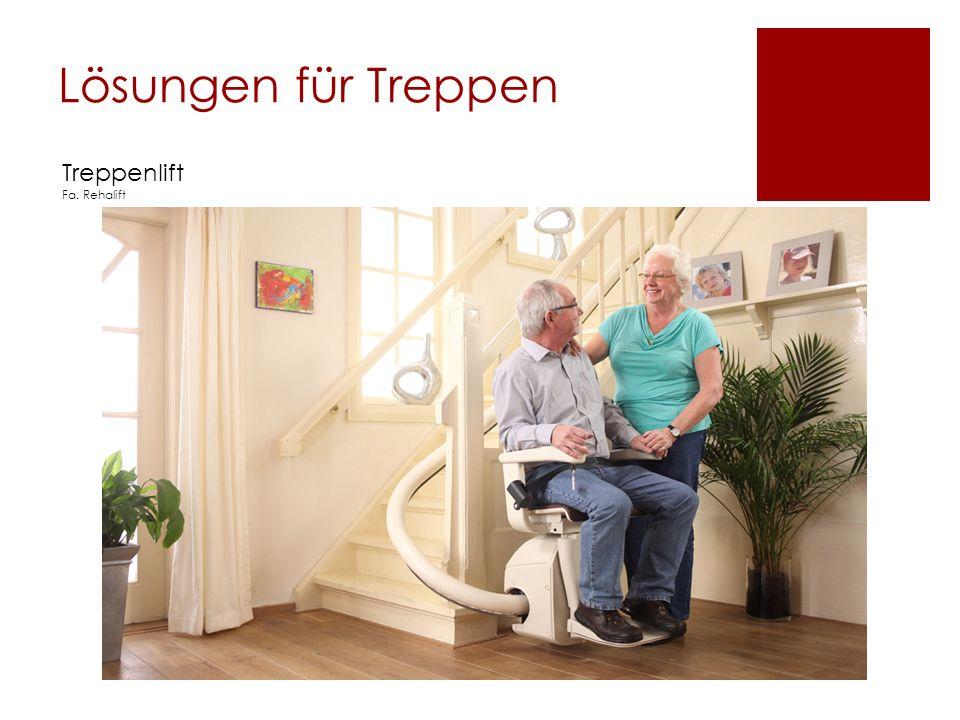 Lösungen für Treppen Treppenlift Fa. Rehalift