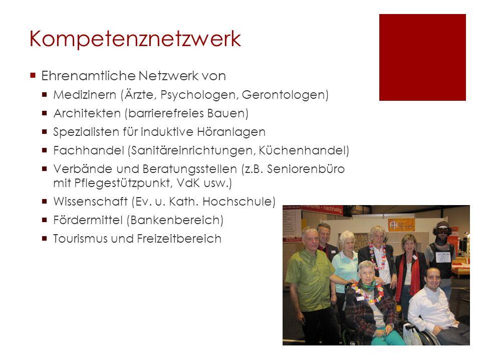 Kompetenznetzwerk Ehrenamtliche Netzwerk von