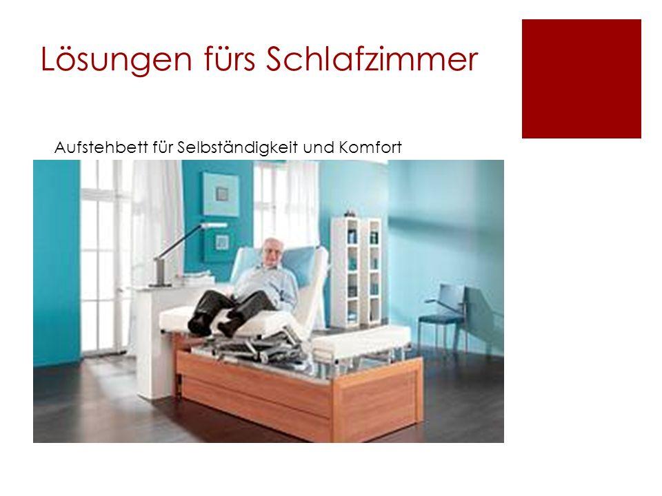 Lösungen fürs Schlafzimmer