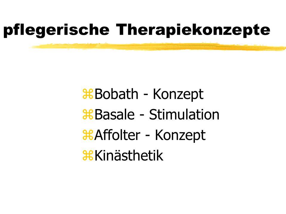 pflegerische Therapiekonzepte