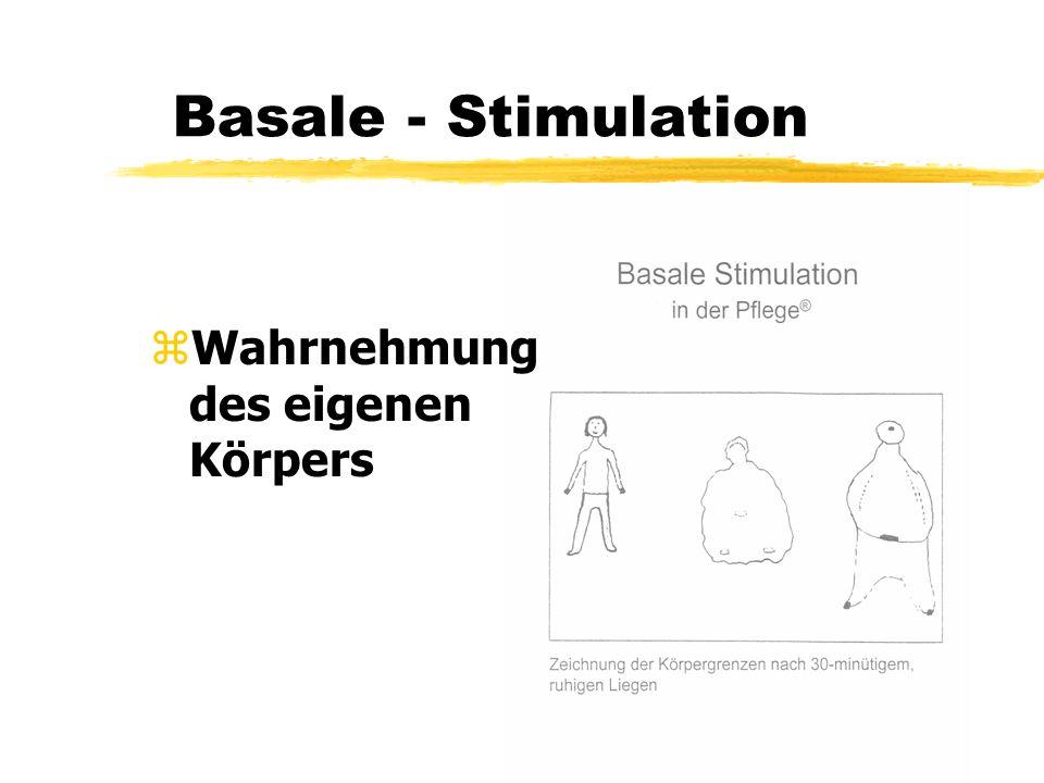 Basale - Stimulation Wahrnehmung des eigenen Körpers