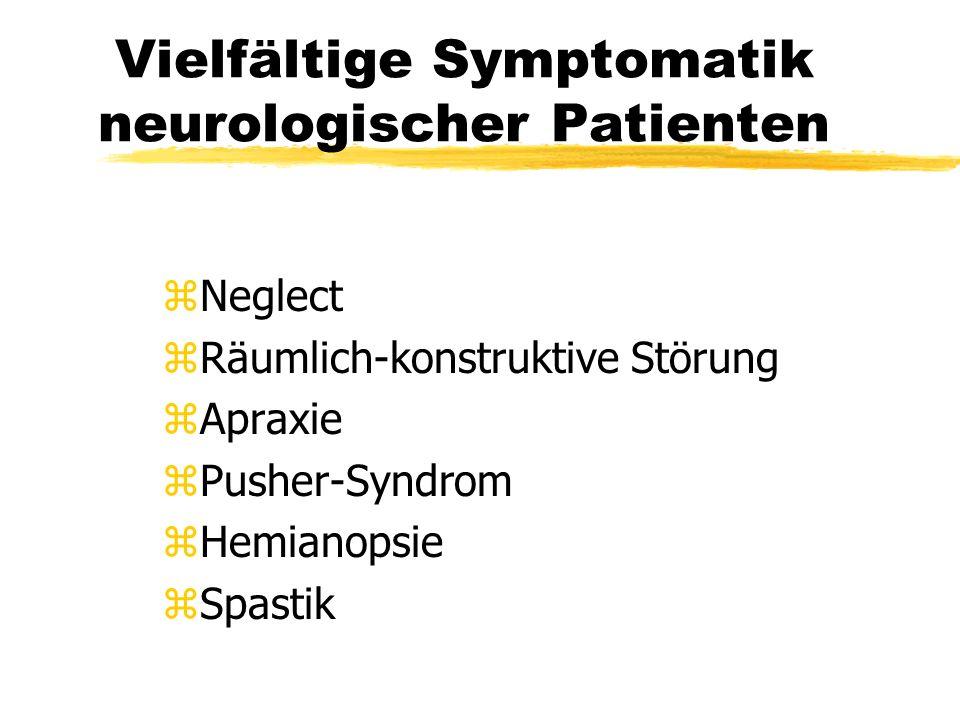Vielfältige Symptomatik neurologischer Patienten