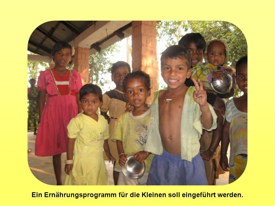 Ein Ernährungsprogramm für die Kleinen soll eingeführt werden.