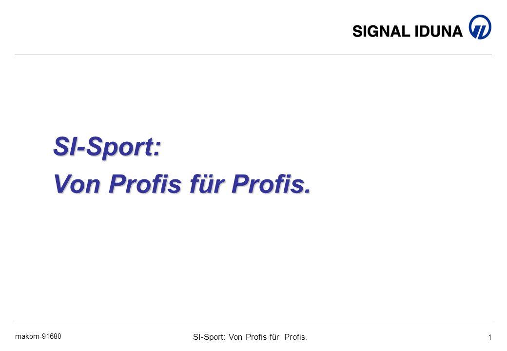 SI-Sport: Von Profis für Profis.