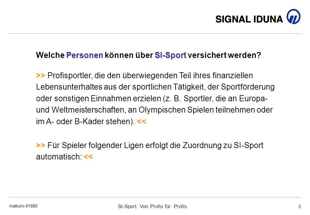 Welche Personen können über SI-Sport versichert werden