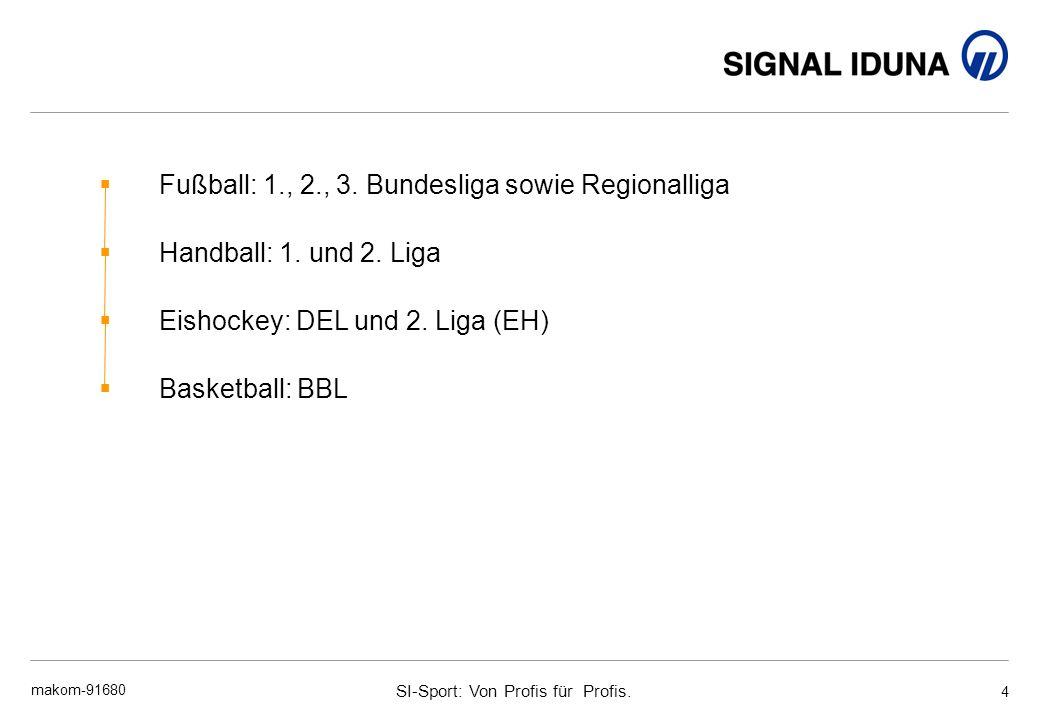 Fußball: 1., 2., 3. Bundesliga sowie Regionalliga