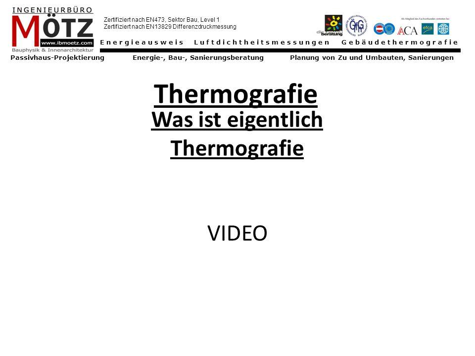 Was ist eigentlich Thermografie VIDEO