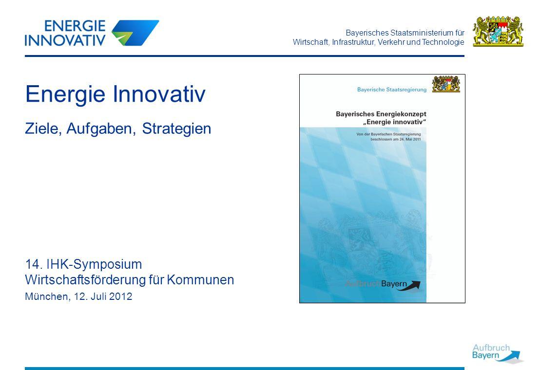Energie Innovativ Ziele, Aufgaben, Strategien