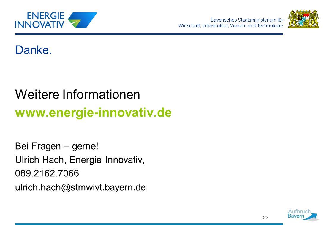 Weitere Informationen www.energie-innovativ.de