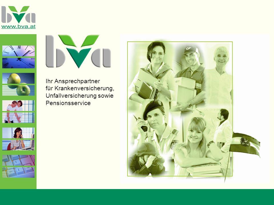 Ihr Ansprechpartner für Krankenversicherung, Unfallversicherung sowie Pensionsservice
