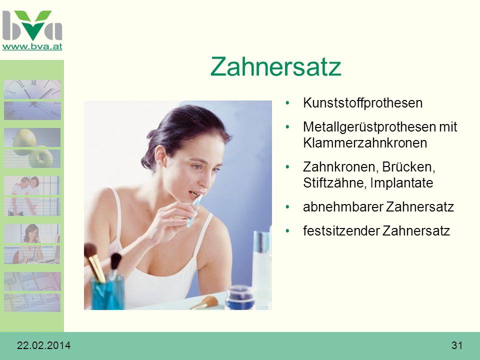 Zahnersatz Kunststoffprothesen