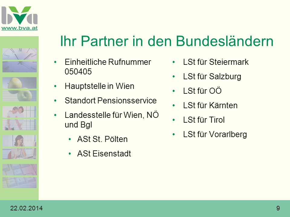 Ihr Partner in den Bundesländern