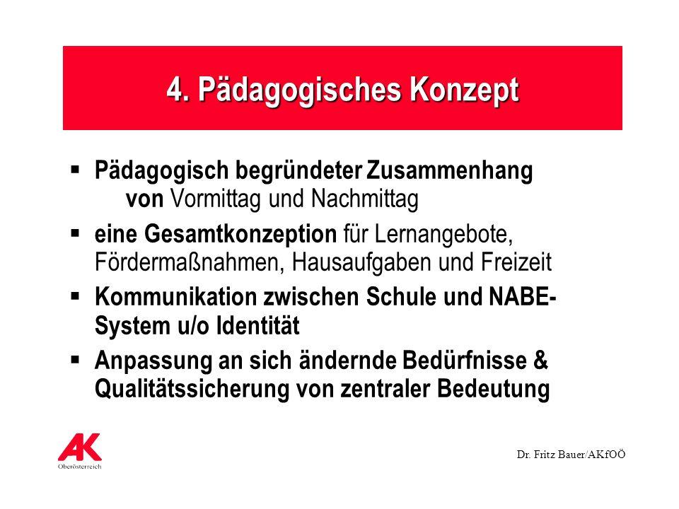 4. Pädagogisches Konzept