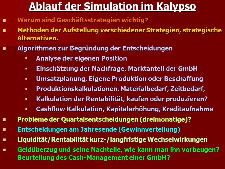 Ablauf der Simulation im Kalypso