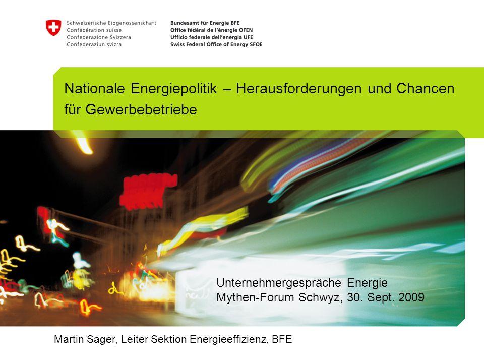 Nationale Energiepolitik – Herausforderungen und Chancen für Gewerbebetriebe