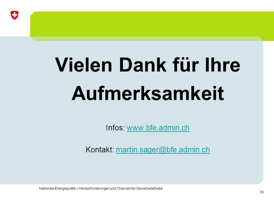 Kontakt: martin.sager@bfe.admin.ch