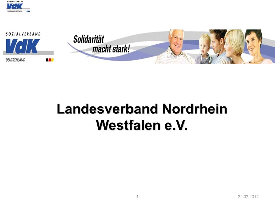 Landesverband Nordrhein Westfalen e.V.