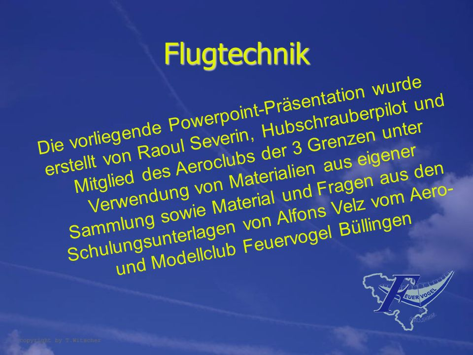 Flugtechnik