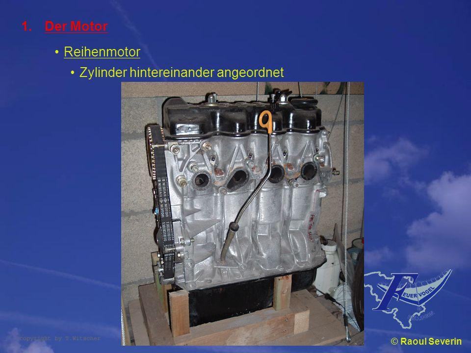 Zylinder hintereinander angeordnet