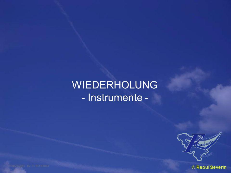 WIEDERHOLUNG - Instrumente - © Raoul Severin