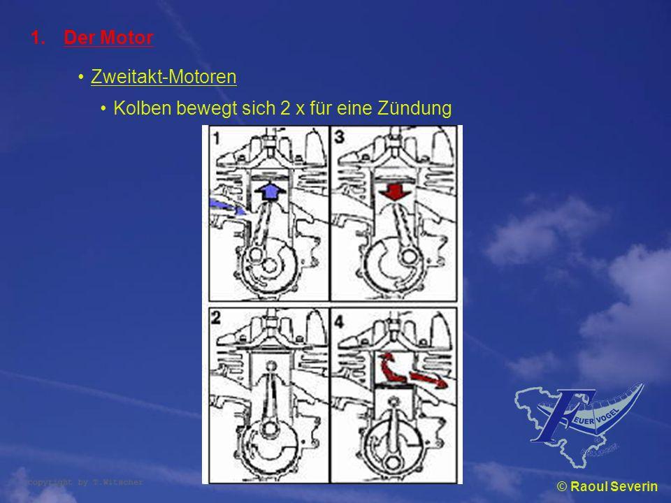 Kolben bewegt sich 2 x für eine Zündung