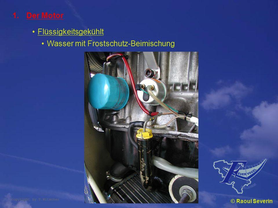 Wasser mit Frostschutz-Beimischung