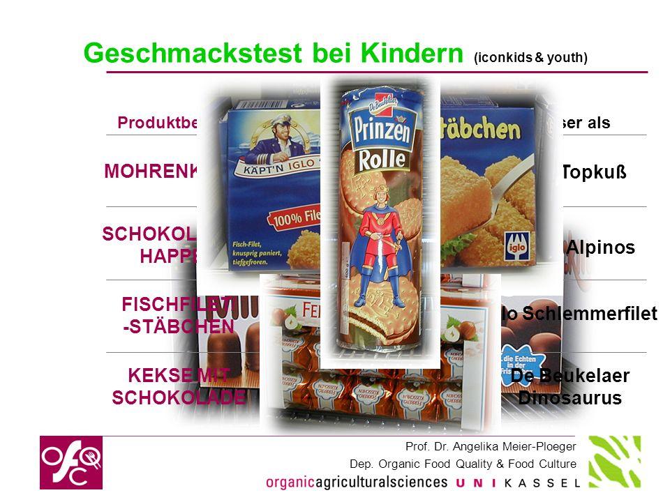 Geschmackstest bei Kindern (iconkids & youth)