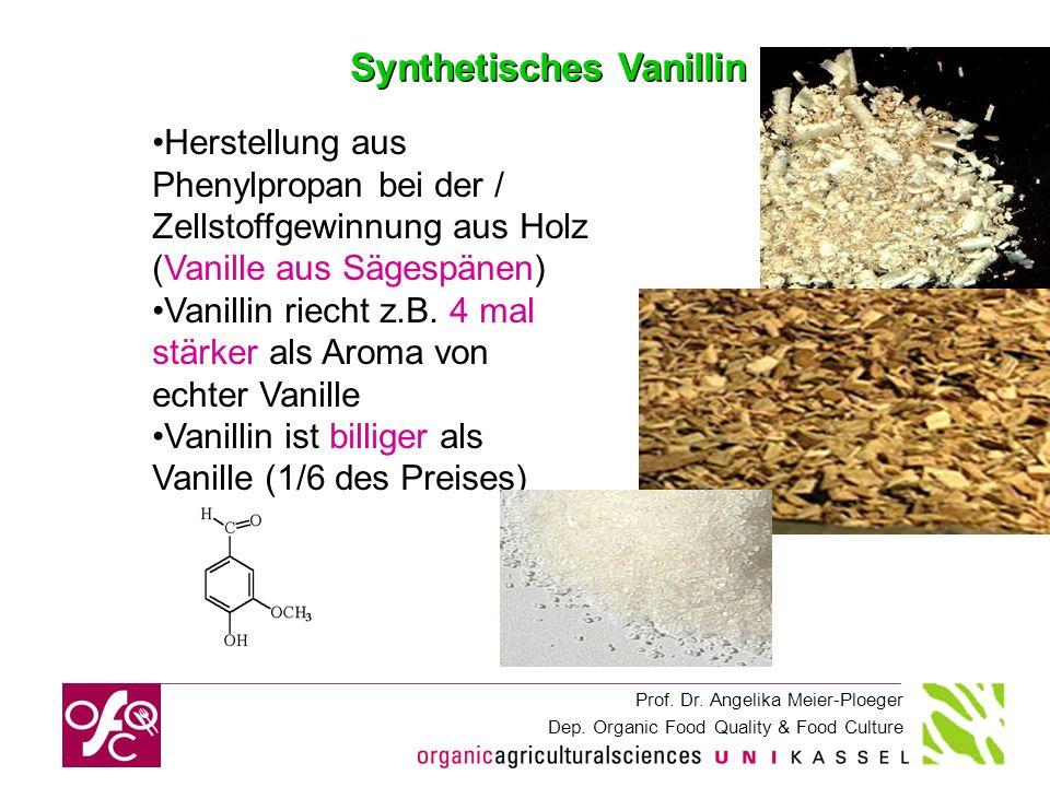 Synthetisches Vanillin
