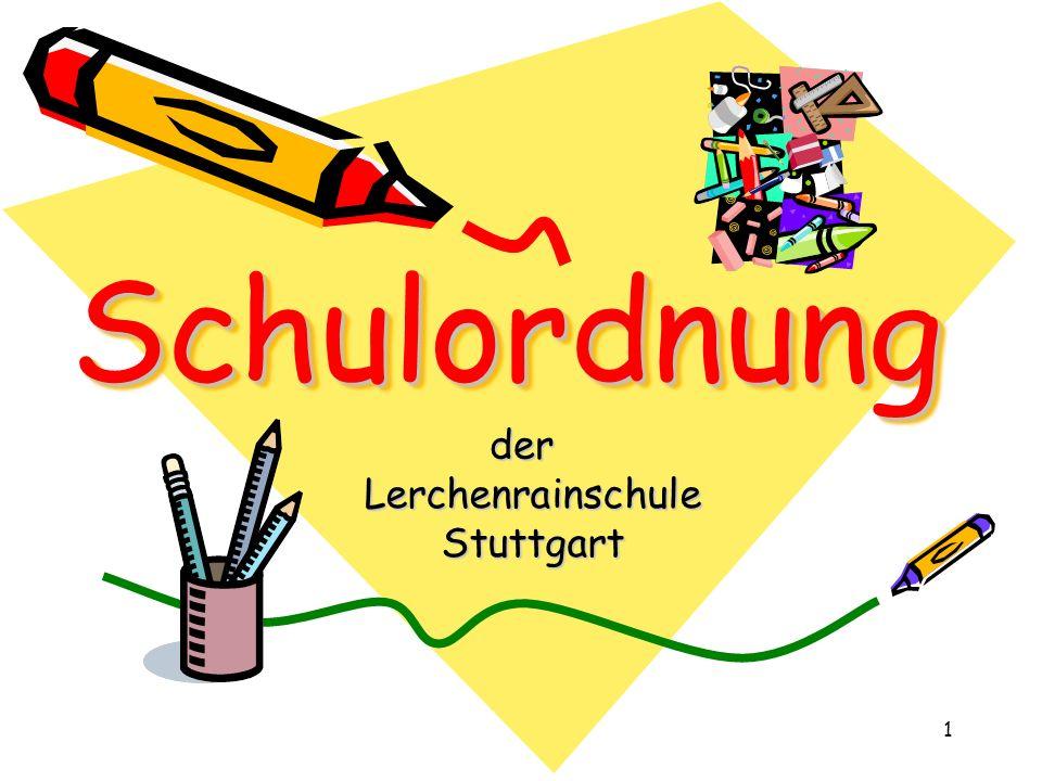 Schulordnung