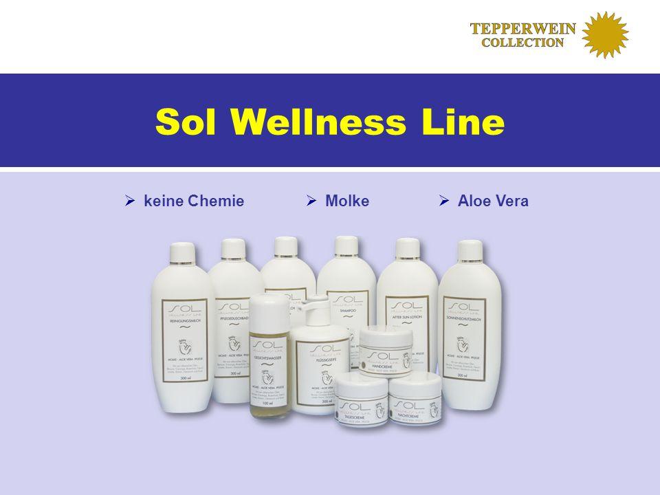 Sol Wellness Line keine Chemie Molke Aloe Vera