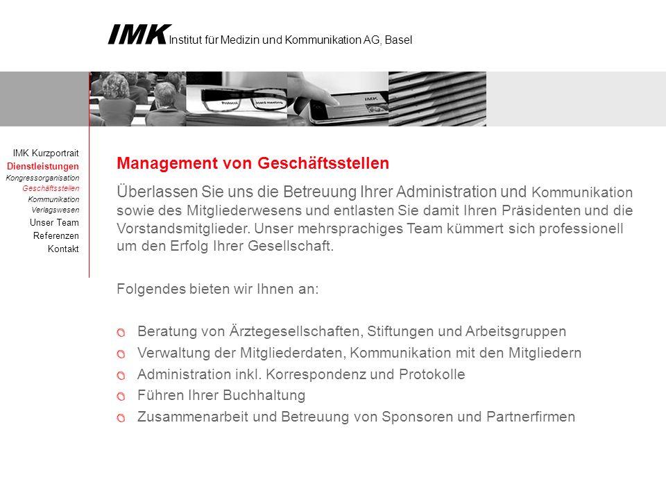 Management von Geschäftsstellen
