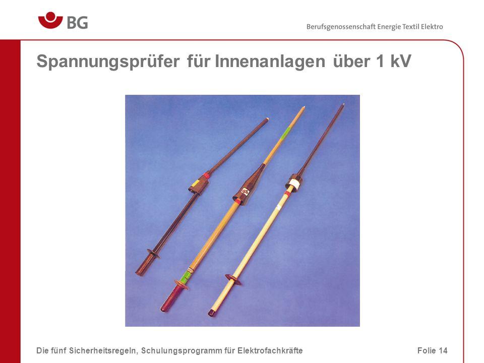 Spannungsprüfer für Innenanlagen über 1 kV
