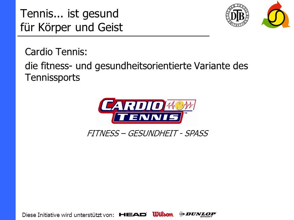 Tennis... ist gesund für Körper und Geist