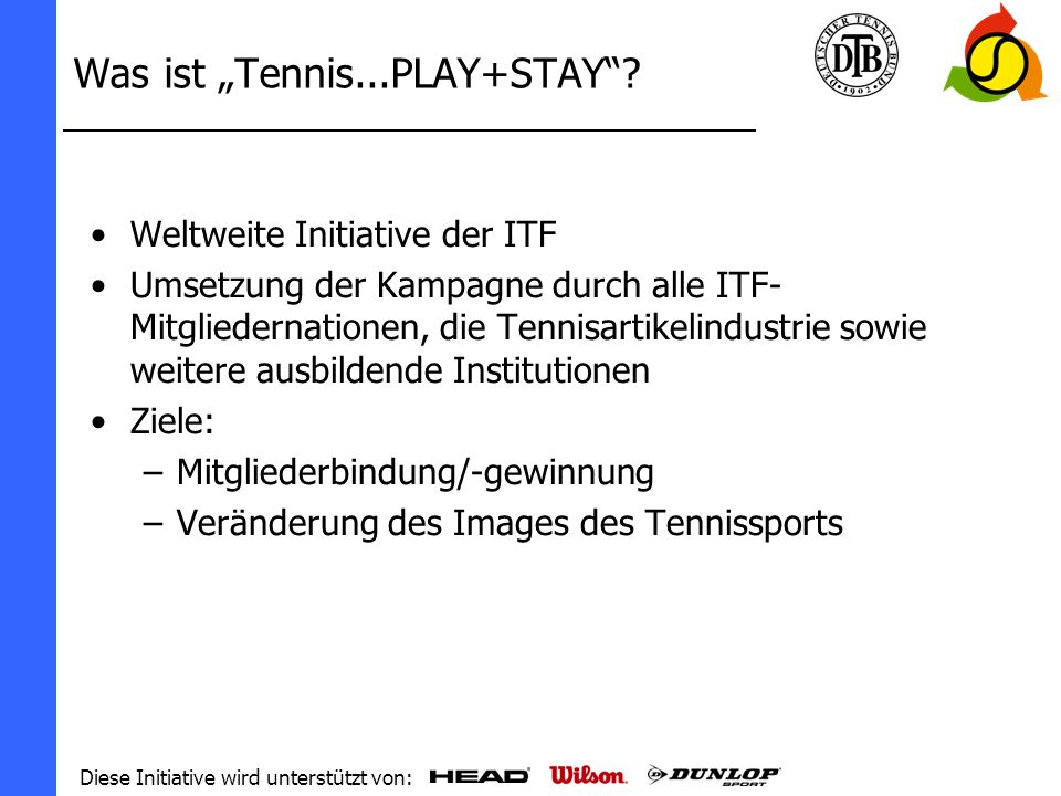 "Was ist ""Tennis...PLAY+STAY"