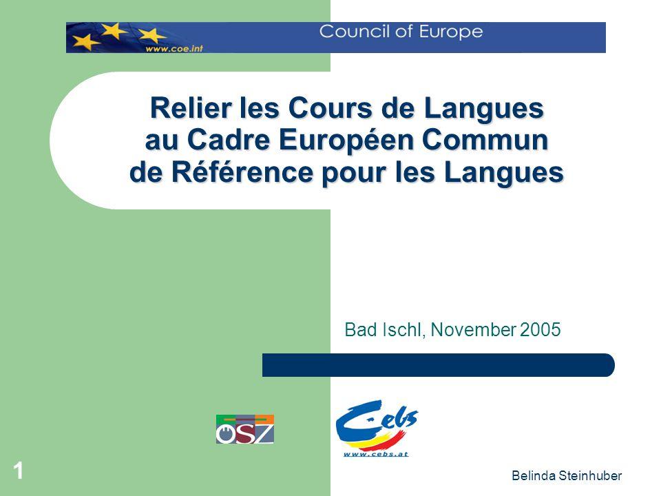 relier les cours de langues au cadre europ 233 en commun de r 233 f 233 rence pour les langues bad ischl