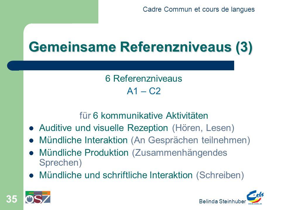 Gemeinsame Referenzniveaus (3)