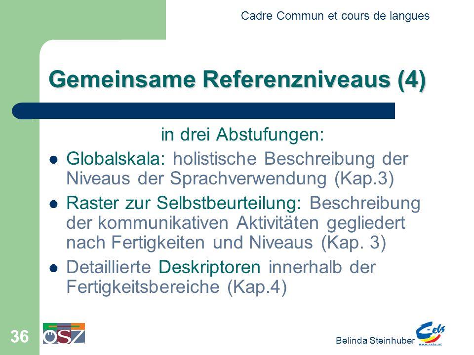 Gemeinsame Referenzniveaus (4)