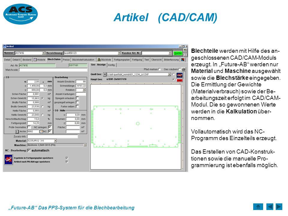 Artikel (CAD/CAM)